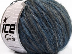 Goloso Alpaka - modrošedé odstíny