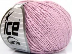 Hedvábí bavlna - fialová
