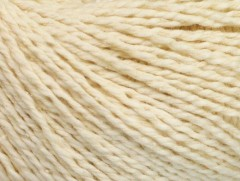 Hedvábí bavlna - krémová