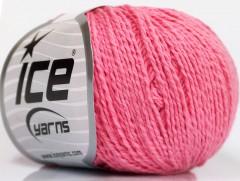 Hedvábí bavlna - růžová