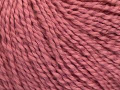 Hedvábí bavlna - starorůžová