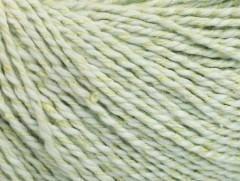Hedvábí bavlna - světlá mátově zelená