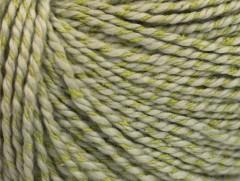 Hedvábí bavlna - světle khaki
