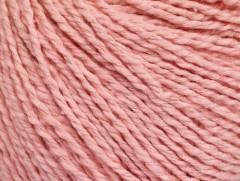 Hedvábí bavlna - světle růžová