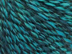 Iris vlna - tyrkysové odstíny