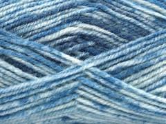 Jeans vlna - modré odstíny