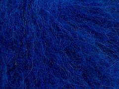 Kid mohér alpaka light - ostře modrá