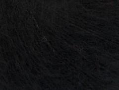 Kid mohér comfort - černá