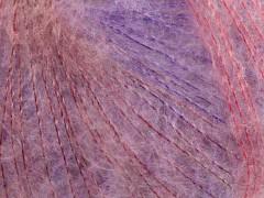 Kid mohér fajn - fialovorůžové odstíny