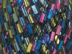 Ladder - modrorůžovožlutá