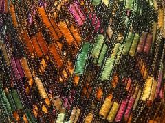 Ladder - oranžovozelenorůžovožlutá