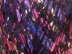 Ladder - purpurovorůžovožlutofialová