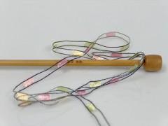 Ladder - růžovozelenožlutokrémová