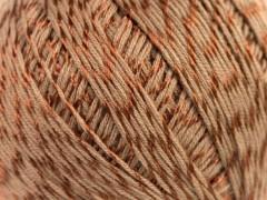 Letní mercerovaná bavlna - hnědá