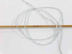Letní mercerovaná bavlna - světle šedá