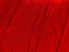 Lněná příze - červená