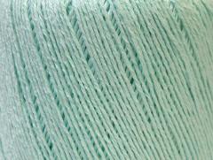 Lněná příze - mátově zelená