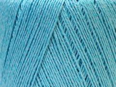 Lněná příze - světle modrá