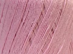 Lněná příze - světle růžová