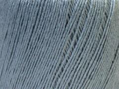 Lněná příze - světle šedá