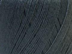Lněná příze - tmavě šedá
