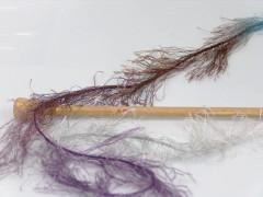 Long Eylash colorful - modrohnědofialovostříbrná