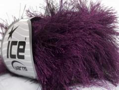Long Eylash - tmavě purpurová