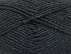 Lorena worsted - antracitově černá