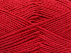 Lorena worsted - červená 1