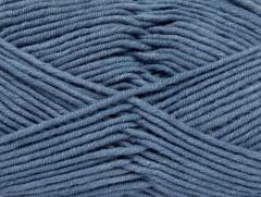 Lorena worsted - jeansově modrá