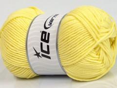 Lorena worsted - světle žlutá