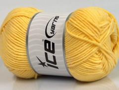 Lorena worsted - žlutá 1