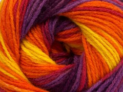 Magic light - oranžovožlutopurpurová