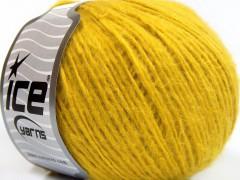 Mako bavlna softy - žlutá