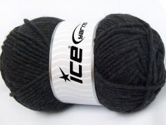 Merino chunky - antracitově černá