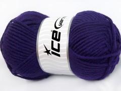 Merino chunky - purpurová
