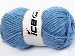 Merino chunky - světle modrá