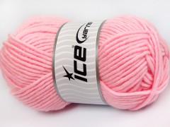 Merino chunky - světle růžová