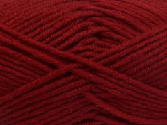 Merino chunky - tmavě červená
