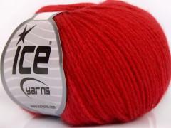 Merino extrafajn chain - červená