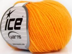 Merino extrafajn chain - světle oranžová