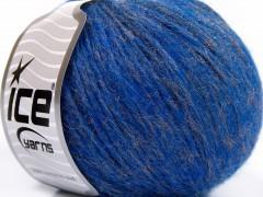 Merino extrafajn shine - modrozlatá