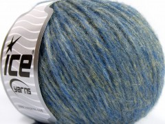 Merino extrafajn shine - modrozlaté odstíny
