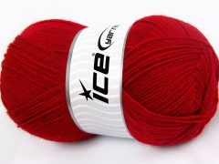 Merino gold - červená 1