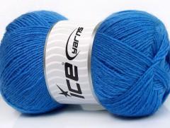 Merino gold - modrá 1