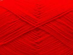 Merino gold - ostře červená