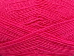 Merino gold - ostře růžová