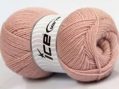 Merino gold - pudrově růžová