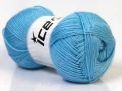 Merino gold - světle modrá