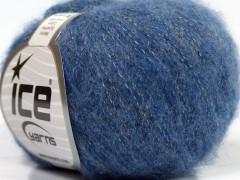 Merinobavlna extrafajn - modrá